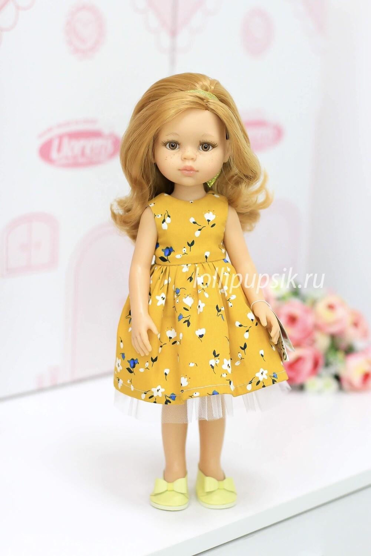 Кукла Даша в красивом платье (Паола Рейна), 34 см