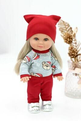 Кукла Бетти Рапунцель с ароматом карамели, 30 см (в новогоднем костюме) Lamagik Magic Baby