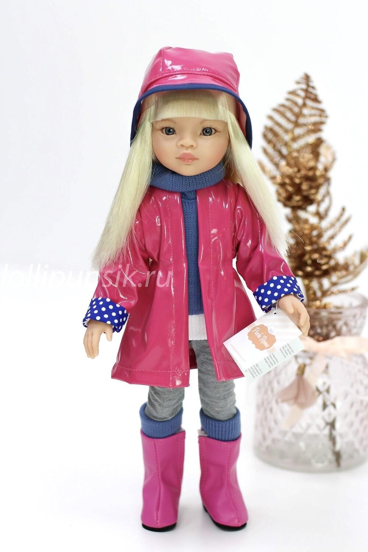 Кукла Маника  в фабричной одежде (Паола Рейна), 34 см