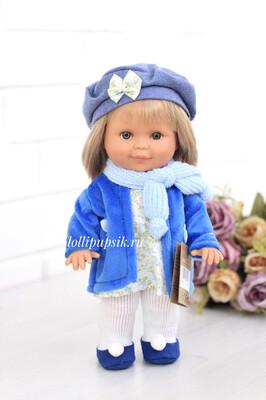 Кукла Бетти с ароматом карамели, с серыми глазками, в пальто и берете, 30 см, Lamagik Magic Baby