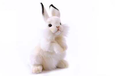 Белый кролик, 32 см