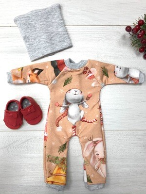 Наряд с зайкой для куклы Paola Reina 32-34 см