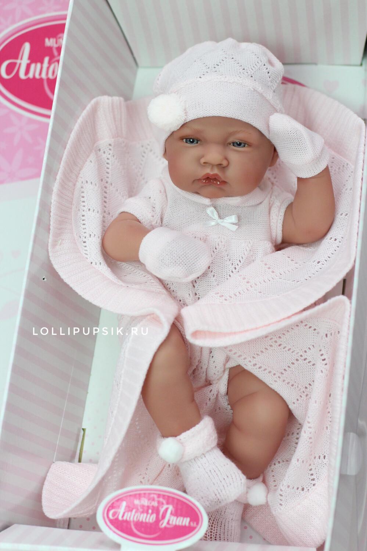 Кукла-реборн виниловая Antonio Juan, 42 см