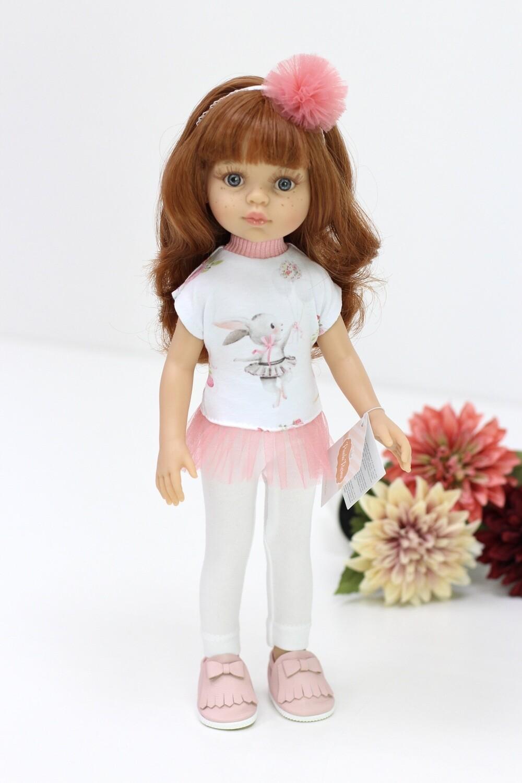 Кукла Кристи с челкой в модном наряде,  Паола Рейна , 34 см