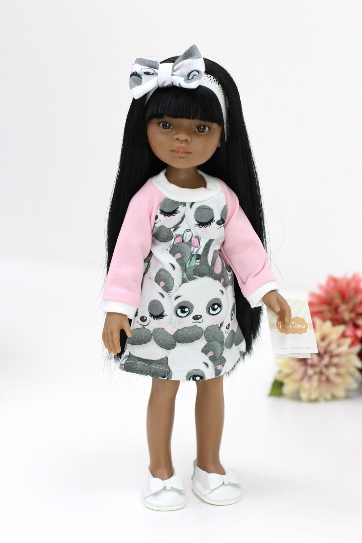 Кукла Мэйли в модном платье Паола Рейна (Paola Reina), 34 см