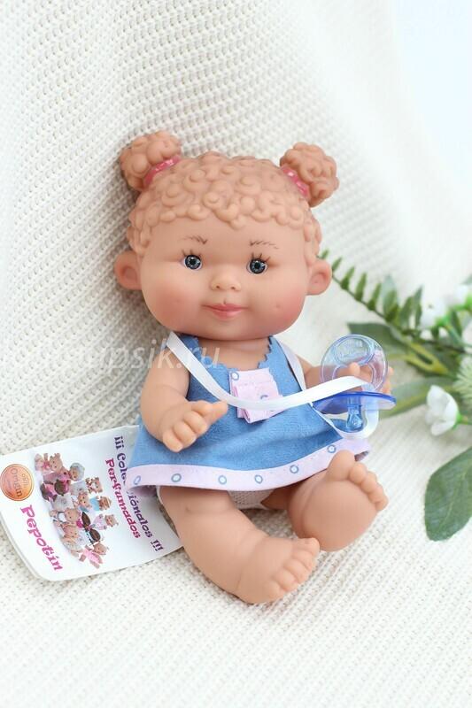 Ванильный пупс Marina&Pau Кудряшка - 21 см