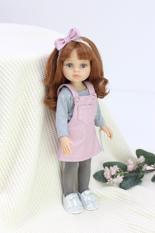 Кукла Кристи с челкой в модном образе,  Паола Рейна , 34 см