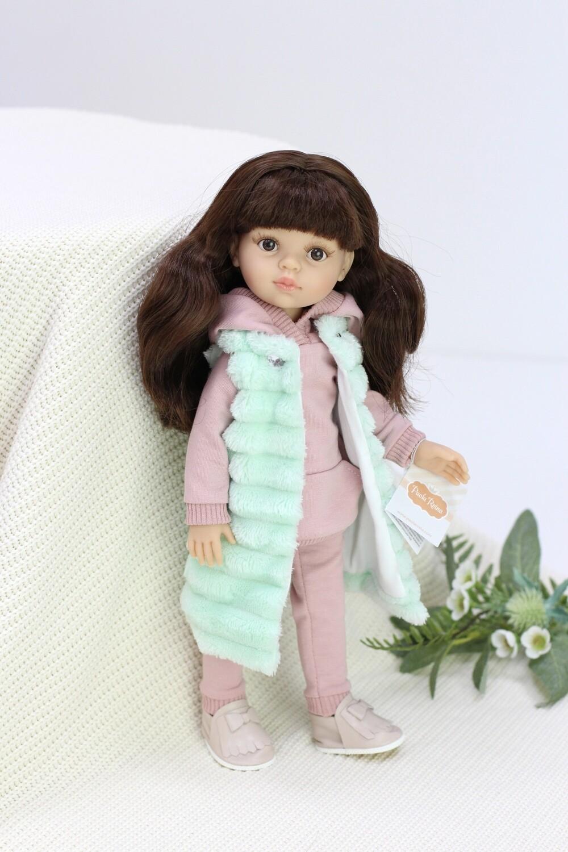 Кукла Кэрол с челкой в стильном образе (Паола Рейна), 34 см