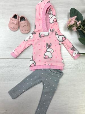 Комплект для куклы Paola Reina 32-34 см, с зайкой