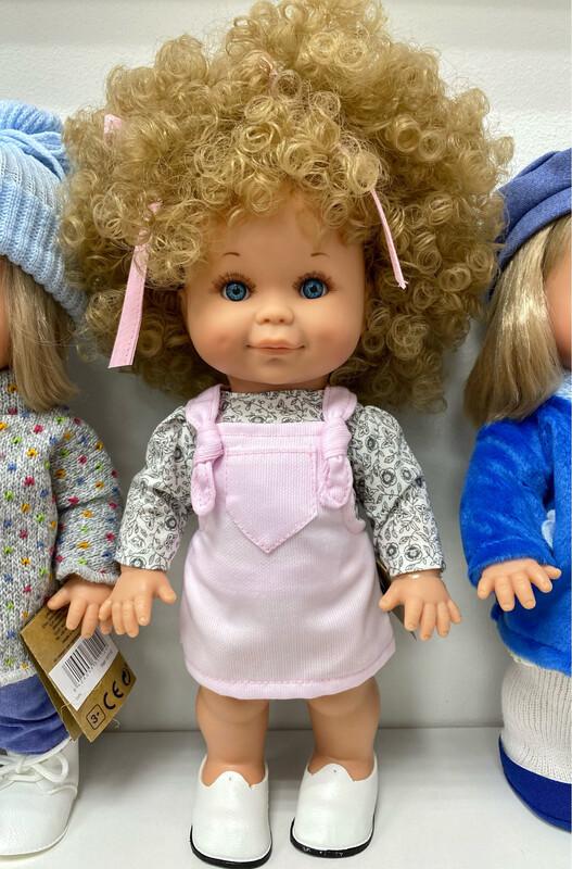 Кукла Бетти с ароматом карамели, с голубыми глазками, 30 см, Lamagik Magic Baby