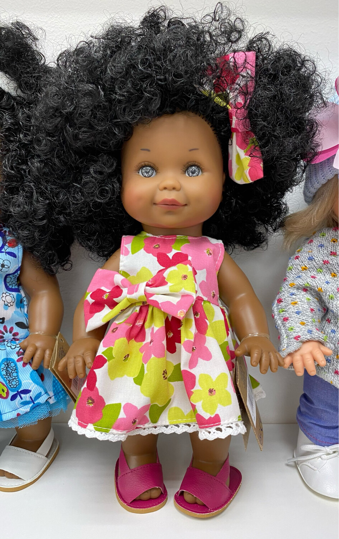 Кукла Бетти-мулатка с ароматом карамели, с серо-голубыми глазками, 30 см, Lamagik Magic Baby