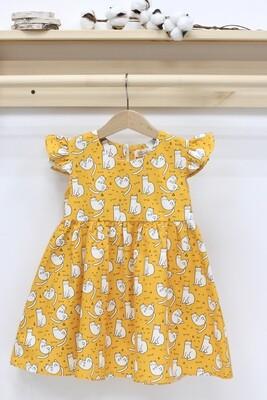 Платье летнее «Котики»