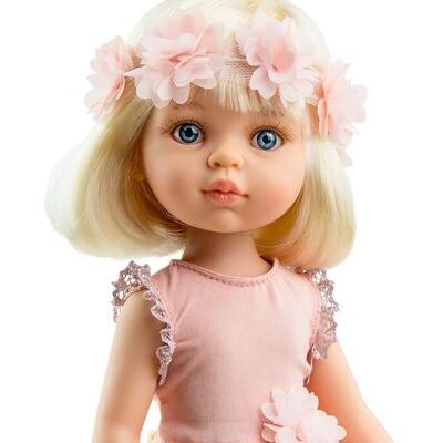 Кукла Клаудия с каре (Паола Рейна) (в фабричном наряде), 34 см