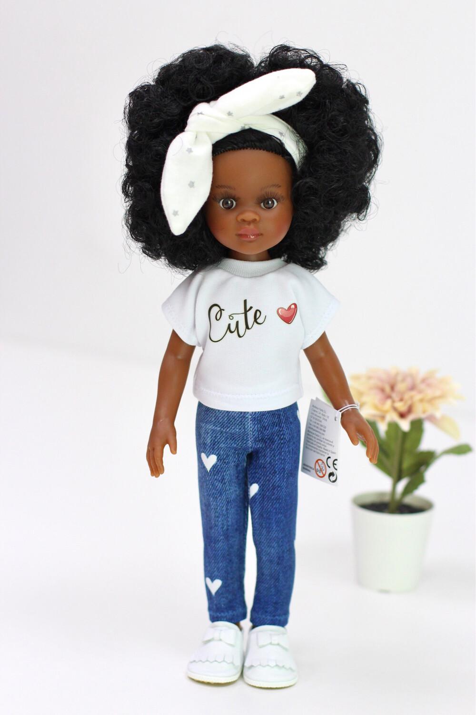 Кукла Нора с кудряшками Паола Рейна (Paola Reina), 34 см