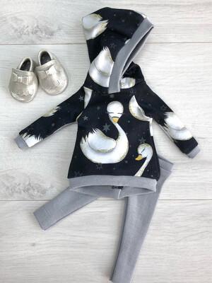 Комплект для куклы Paola Reina 32-34 см, с лебедем