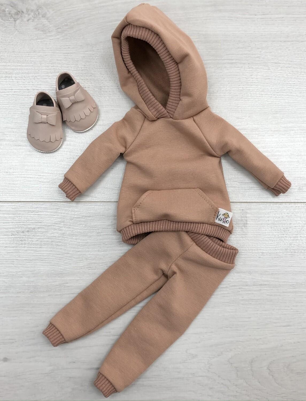 Комплект для куклы Paola Reina 32-34 см, капучино
