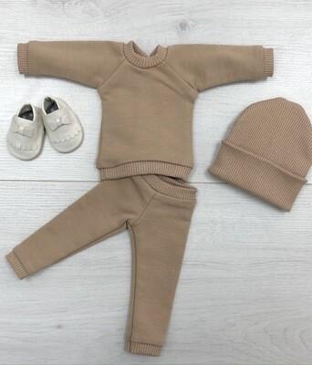 Комплект для куклы Paola Reina 32-34 см, цвет карамель