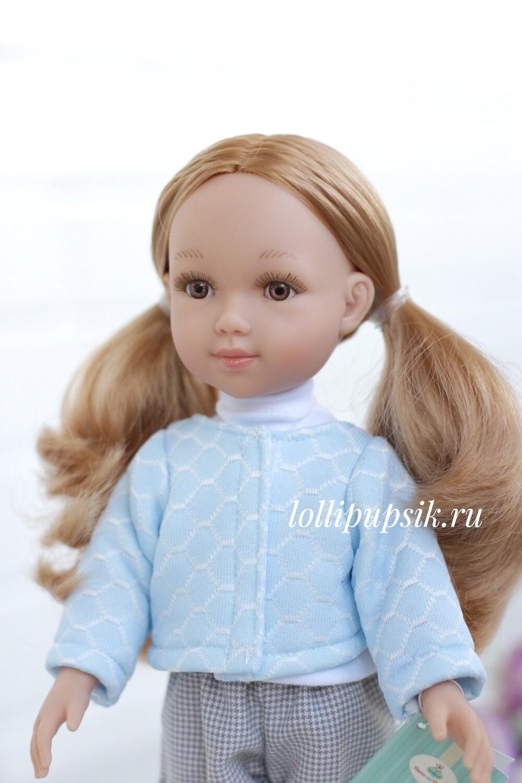 Кукла Марита с карими глазами, Reina del Norte (в фабричном наряде), 34 см