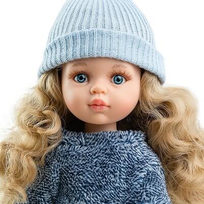 Кукла Карла с голубыми глазками (Паола Рейна) (в фабричном наряде), 34 см