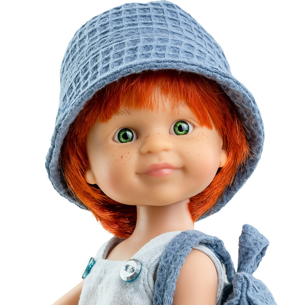 Кукла Крис рыжий мальчик, Паола Рейна (в фабричном наряде), 34 см