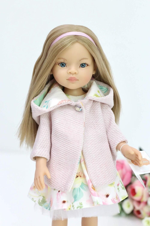 Кукла Маника с волосами до пояса в стильном образе , Паола Рейна, 34 см
