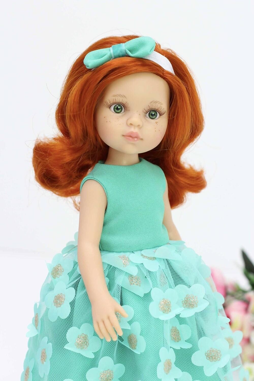 Кукла Кристи в нарядном платье (Паола Рейна), 34 см