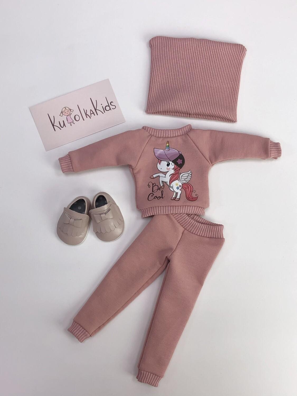 Комплект с единорожкой для куклы Paola Reina 32-34 см