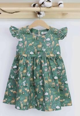 Платье летнее «Лесная сказка»