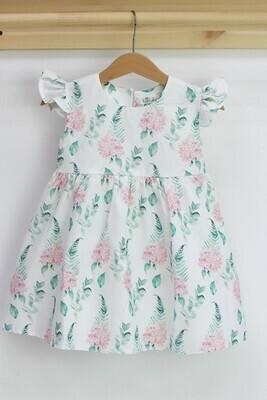 Платье летнее «Гортензии»