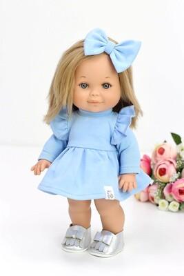 Кукла Бетти с ароматом карамели, в платье цвета