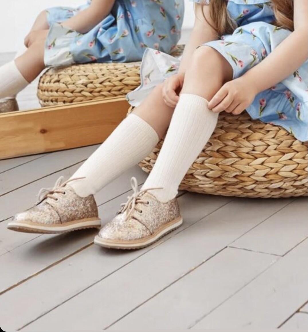 Гольфы для девочки (молочные, розовые, белые)