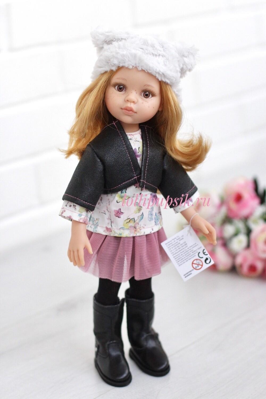 Кукла Даша в фабричной одежде (Паола Рейна), 34 см
