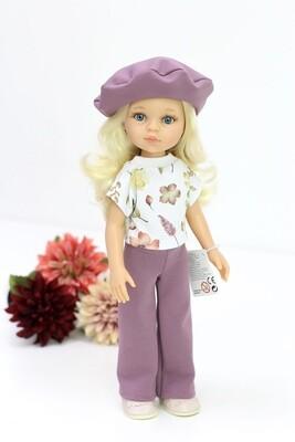 Кукла Клаудия в стильном комплекте Паола Рейна, 34 см