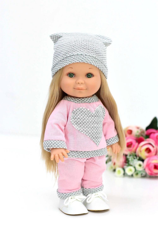 Кукла Бетти Рапунцель с ароматом карамели, с зелёными глазками, 30 см, Lamagik Magic Baby