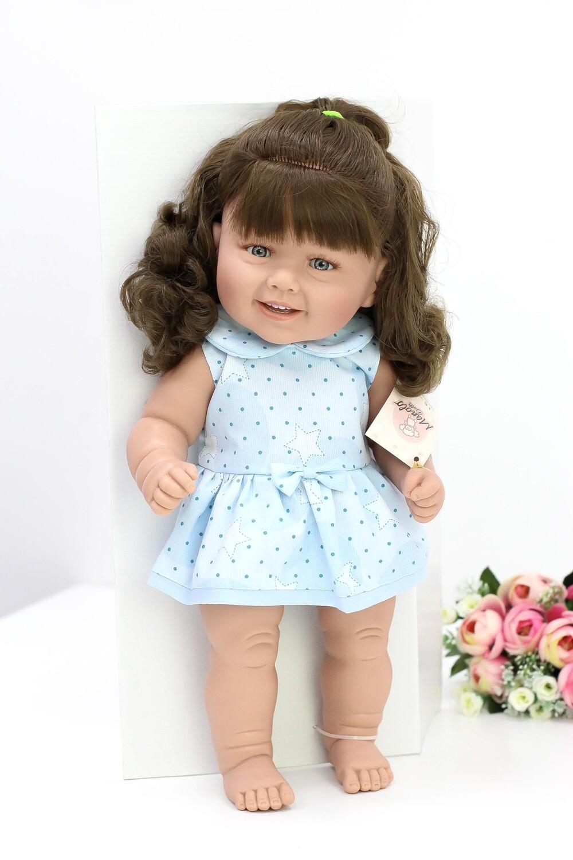 Кукла виниловая Manolo Dolls DIANA с тёмными волосами, 50 см