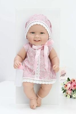Кукла виниловая Manolo Dolls DIANA малышка 48 см. Упаковка фирменная коробка
