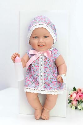 Кукла виниловая Manolo Dolls DIANA малышка 50 см. Упаковка фирменная коробка