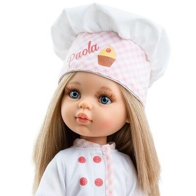 Кукла Карла - кондитер, Паола Рейна (в фабричном наряде), 34 см