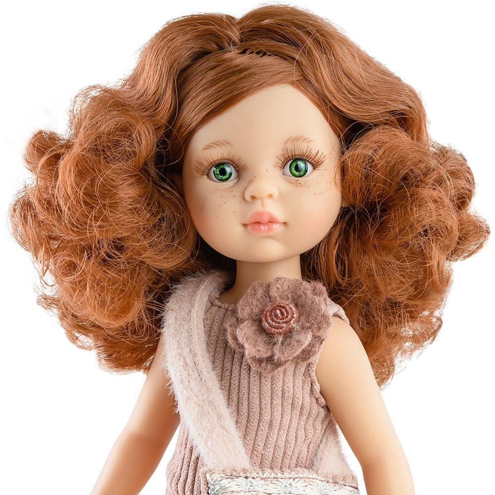 Кукла Кристи Паола Рейна в стильном образе с сумочкой (в фабричном наряде), 34 см