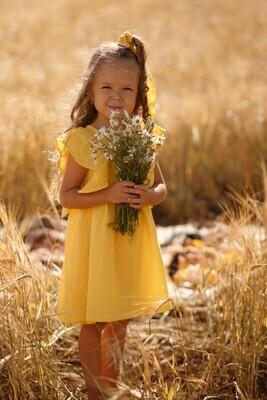 Платье из муслина «Солнце»