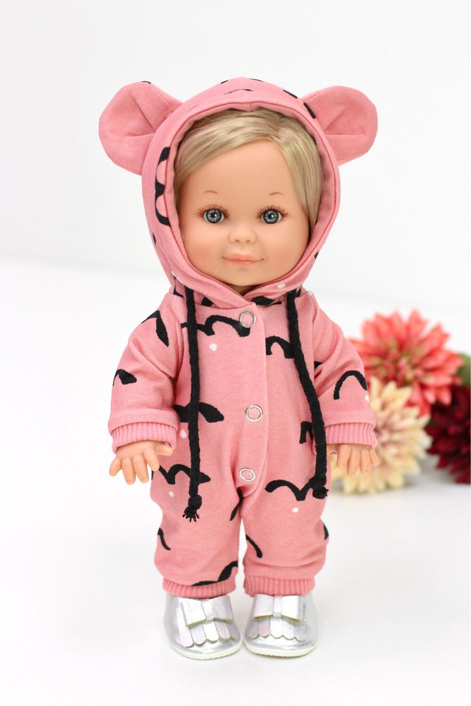 Кукла Бетти с ароматом карамели, в комбинезоне