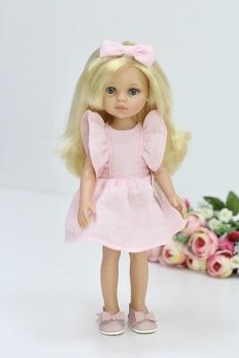 Кукла Клаудия в стильном образе Паола Рейна, 34 см