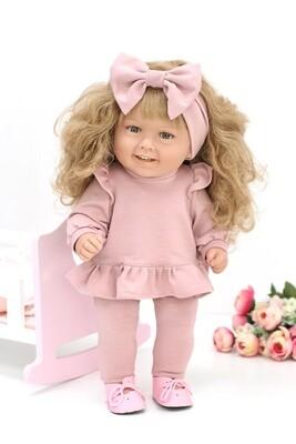 Кукла виниловая Manolo Dolls DIANA Кудряшка, 50 см. Упаковка пакет