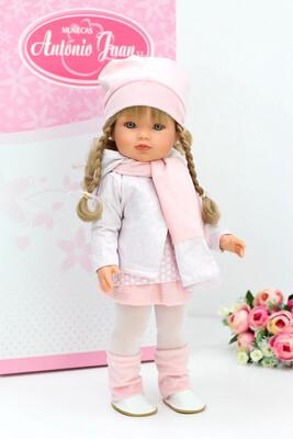 Кукла виниловая Белла с русыми волосами, Antonio Juan, 45 см. Упаковка фирменная коробка
