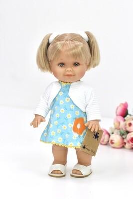 Кукла Бетти с двумя хвостиками, 30 см, Lamagik Magic Baby, в фабричном наряде