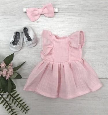 Муслиновый наряд для куклы Paola Reina 32-34 см