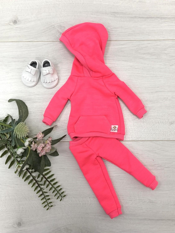 Комплект для куклы Paola Reina 32-34 см, розовый неон