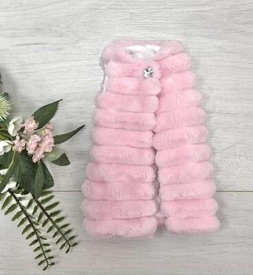 Жилетка розовая для куклы Paola Reina 32-34 см