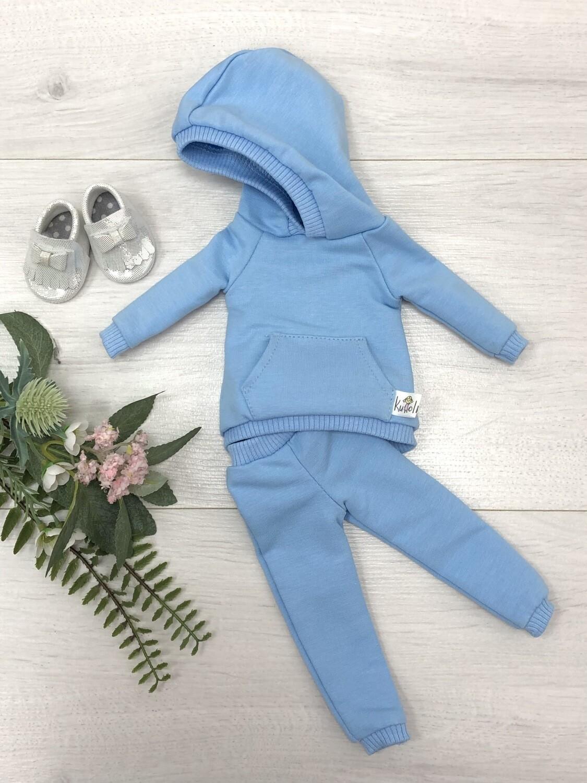 Комплект для куклы Paola Reina 32-34 см, голубой