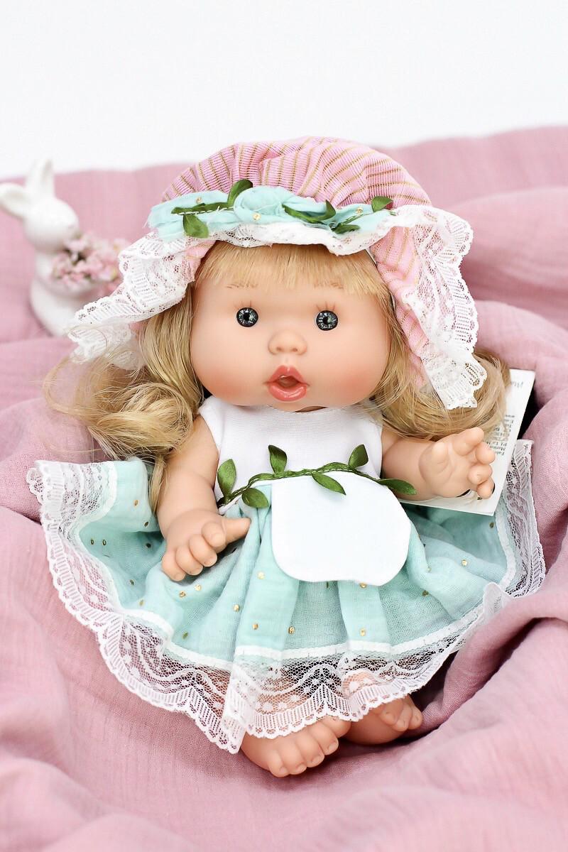 Ванильный пупс девочка Marina&Pau, лимитированная коллекция - 26 см